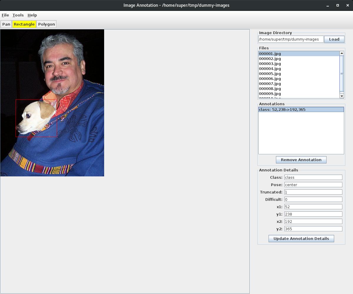 1  Quickstart — Image Annotation 0 0 1 documentation